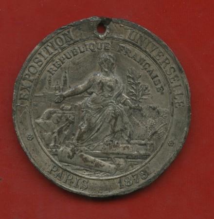 1878 - FRANCIA - MEDAGLIA DELL'ESPOSIZIONE UNIVERSALE DI PARIGI - LOTTO/M31621