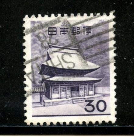 1962/65 - GIAPPONE - 30 y. POSTA ORDINARIA - USATO - LOTTO/29821