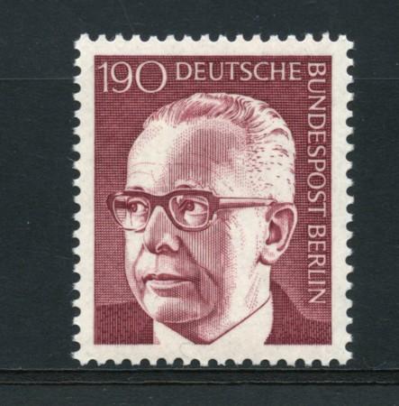 1970 - LOTTO/15546 - BERLINO - 1,90p. PRESIDENTE HEINEMANN - NUOVO