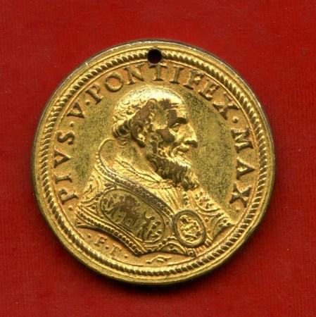 1566/1572 - PAPA PIO V° - MEDAGLIA IN BRONZO - LOTTO/M31622