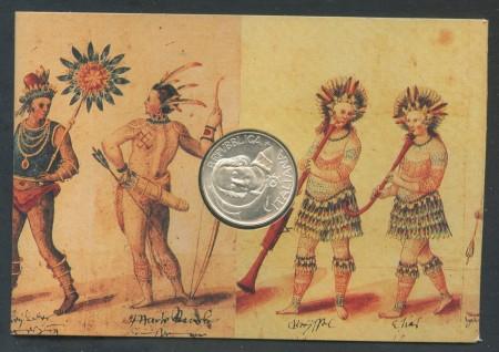 1992 - REPUBBLICA - 500 LIRE ARGENTO SCOPERTA AMERICA - LOTTO/28957