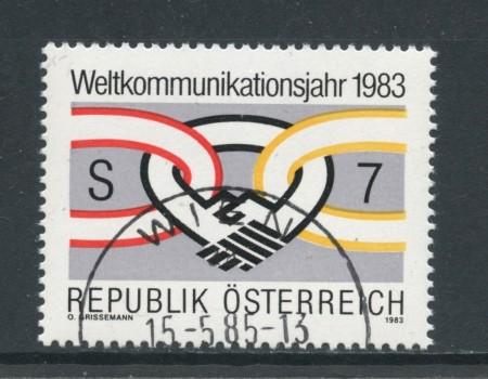 1983 - AUSTRIA - TELECOMUNICAZIONI - USATO - LOTTO/28287