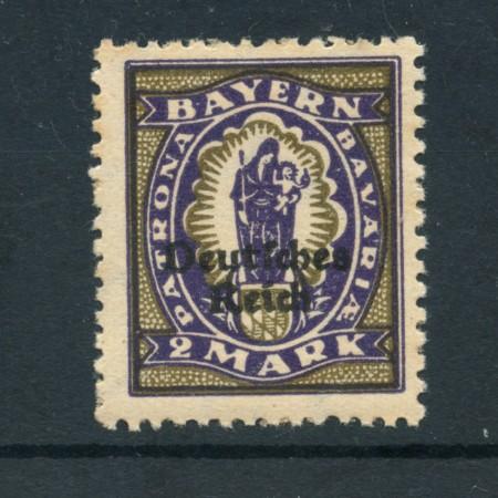 1920 - LOTTO/17838 - GERMANIA REICH - 2m. VIOLETTO - NUOVO