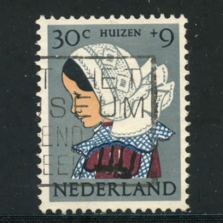 1960 - LOTTO/21299 - OLANDA - 30+9c. PRO INFANZIA - USATO