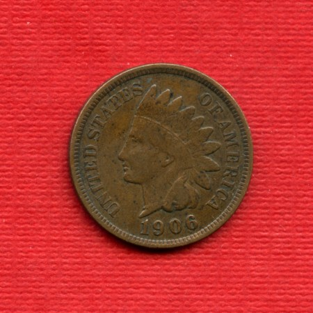 1906 - LOTTO/M22565 - STATI UNITI -  1 CENTESIMO INDIANO