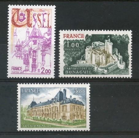 1976 - FRANCIA - SERIE TURISTICA 3v. - NUOVI - LOTTO/30083