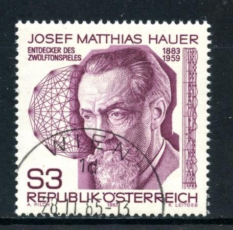1983 - AUSTRIA - MATTEO HAUER - USATO - LOTTO/28289
