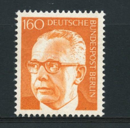 1970 - LOTTO/15544 - BERLINO - 1.60p.  PREDIDENTE HEINEMANN - NUOVO