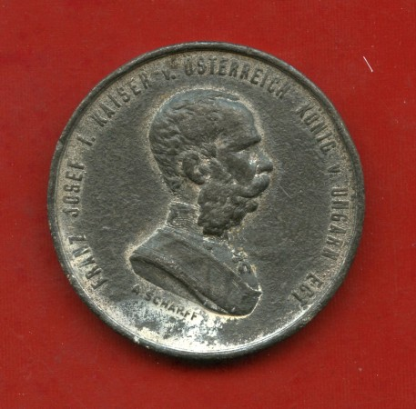 1873 - AUSTRIA - MEDAGLIA FRANCESCO GIUSEPPE . VIENNA 1873 - LOTTO/M31620