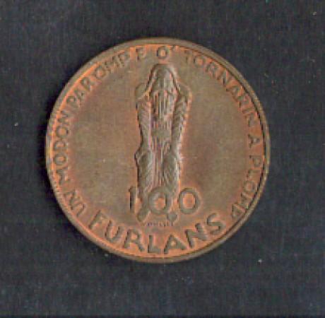 1977 - LOTTO/MGET9 - GETTONE NASCITA FRIULI