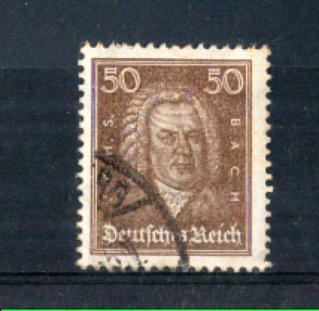1926 - LOTTO/GER388U - GERMANIA REICH - 50p. J.S. BACH - USATO