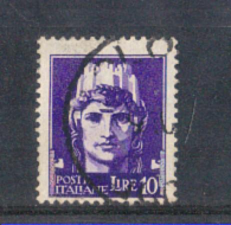 1929 - LOTTO/REG258U - REGNO - 10 LIRE IMPERIALE - USATO