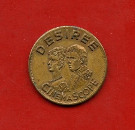1954 - REPUBBLICA - GETTONE  FILM DESIRE' - LOTTO/M21179
