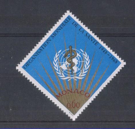 1968 - LOTTO/8455 - MONACO - ORGANIZZAZIONE SANITA'