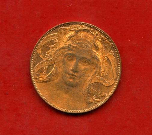 1906 - REGNO D'ITALIA - BUONO DA 20 centesimi ESPOSIZIONE DI MILANO - LOTTO/M30097