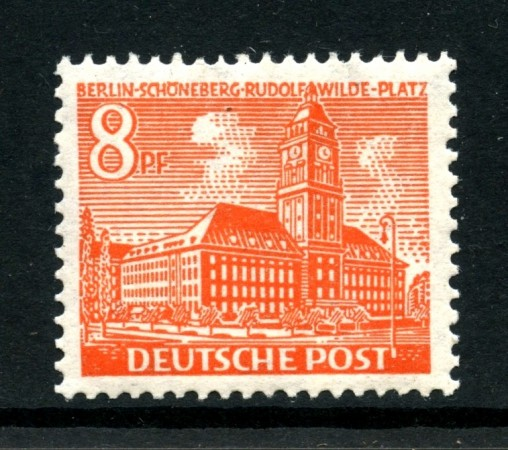 1949 - BERLINO - 8p. MONUMENTI - NUOVO - LOTTO/31943