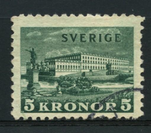 1931 - LOTTO/12161 - SVEZIA - 5k. PALAZZO REALE - USATO