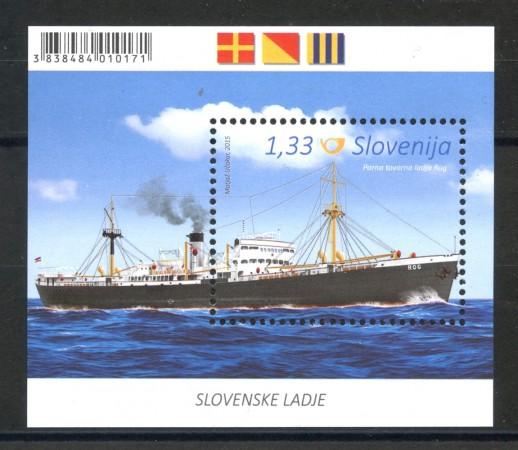 2015 - SLOVENIA - NAVI SLOVENE ROG  FOGLIETTO - NUOVO - LOTTO/34609