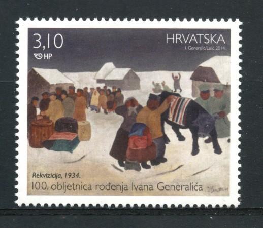 2014 - CROAZIA - IVAN  GENERALIC - NUOVO - LOTTO/33224