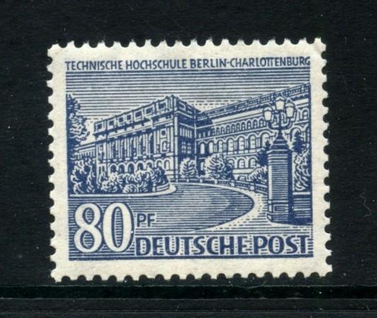 1949 - BERLINO - 80p. MONUMENTI - NUOVO - LOTTO/31949