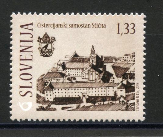 2015 - SLOVENIA - MONASTERO DI STICNA - NUOVO - LOTTO/34602