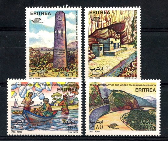 1995 - ERITREA REPUBBLICA - TURISMO 4v.- NUOVI - LOTTO/15002