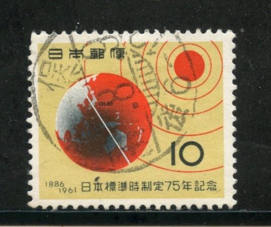 1961 - GIAPPONE - ORARIO STANDARD - USATO - LOTTO/29811