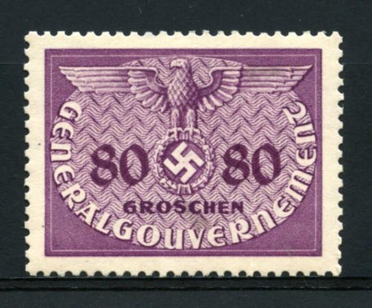 1940 - LOTTO/14057 - POLONIA OCCUPAZ. TEDESCA - 80 gr- SERVIZIO - NUOVO