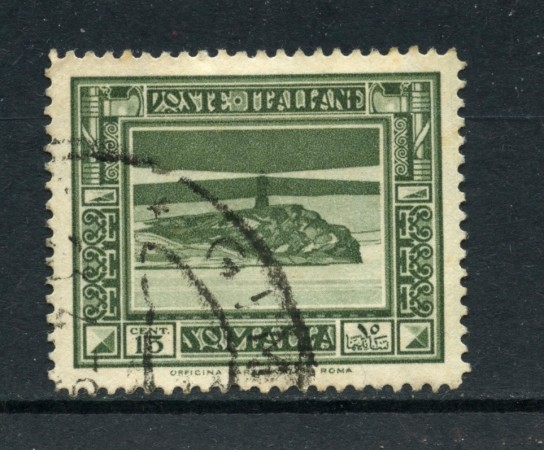 1935/38 - SOMALIA - 15c. PITTORICA - USATO - LOTTO/SOMALIT16U