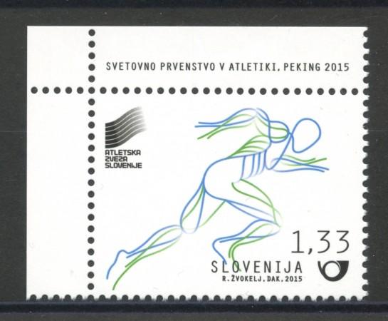 2015 - SLOVENIA - ATLETICA LEGGERA - NUOVO - LOTTO/34608