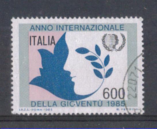 1985 - LOTTO/6839U - REPUBBLICA - ANNO DELLA GIOVENTU' - USATO