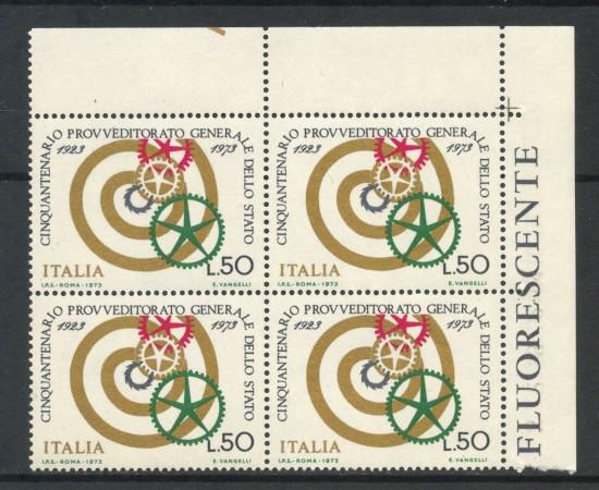1973 - LOTTO/6579Q - REPUBBLICA - PROVVEDITORATO QUARTINA NUOVI