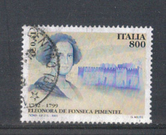 1999 - LOTTO/7238U - REPUBBLICA - DE FONSECA - USATO