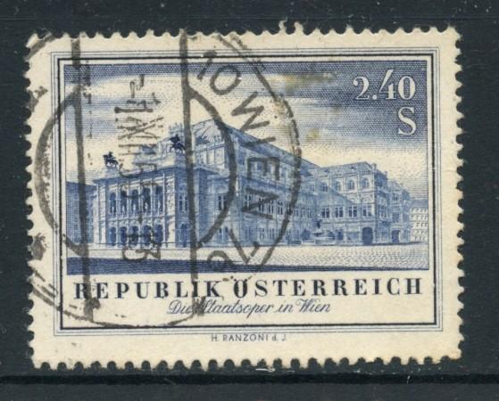 1955 - AUSTRIA - OPERA DI STATO - USATO - LOTTO/27912A