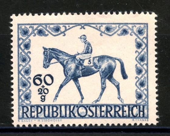 1947 - AUSTRIA - DERBY IPPICO  NUOVO - LOTTO/34060