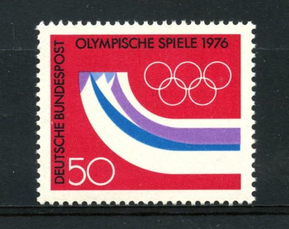 1976 - LOTTO/18968 - GERMANIA FEDERALE - OLIMPIADI DI INNSBRUCK - NUOVO