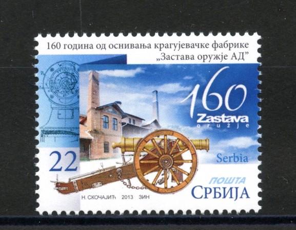 2013 - SERBIA REPUBBLICA - FABBRICA ZASTAVA - NUOVO - LOTTO/35238