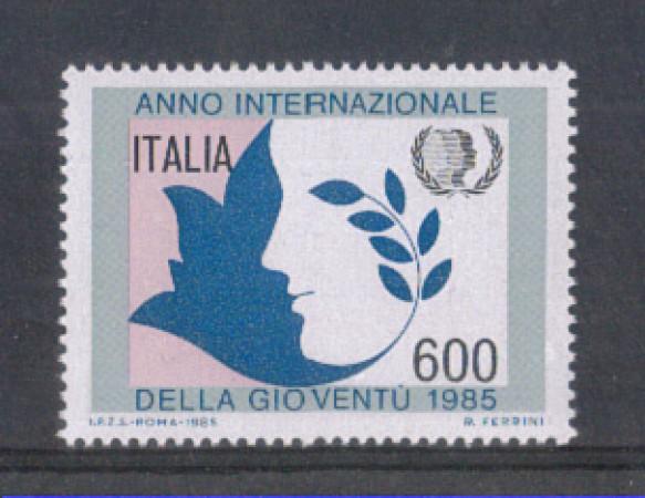 1985 - LOTTO/6839 - REPUBBLICA - ANNO DELLA GIOVENTU'