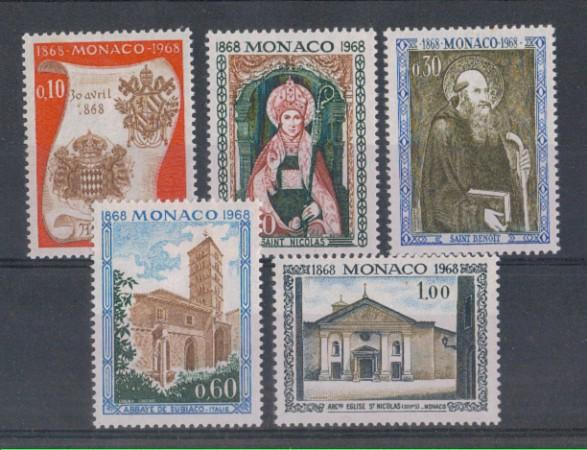1968 - LOTTO/4565 - MONACO - ABBAZIA NULLIUS DIOCESIS
