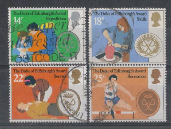 1981 - LOTTO/4629 - GRAN BRETAGNA - PREMIO DUCA DI EDIMBURGO - U