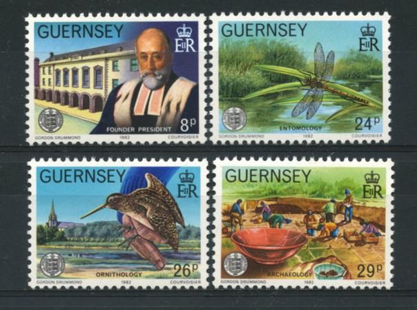 1982 - LOTTO/13430 - GUERNSEY - ASSOCIAZIONE CULTURALE 4v.