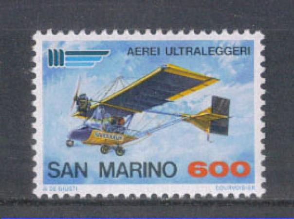 1987 - LOTTO/8075 - SAN MARINO - AEREI ULTRALEGGERI - NUOVO