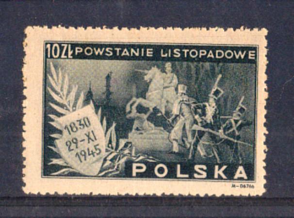 1945 - LBF/2674 - POLONIA - 10 Zl. ANNIV. INSURREZIONE - NUOVO