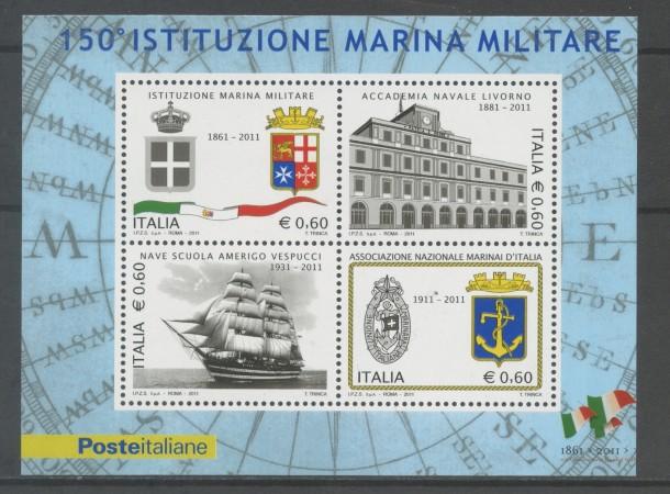 2011 - REPUBBLICA - MARINA MILITARE - FOGLIETTO NUOVO - LOTTO/13133