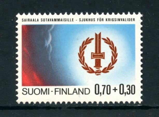 1976 - FINLANDIA - INVALIDI DI GUERRA - NUOVO - LOTTO/25434