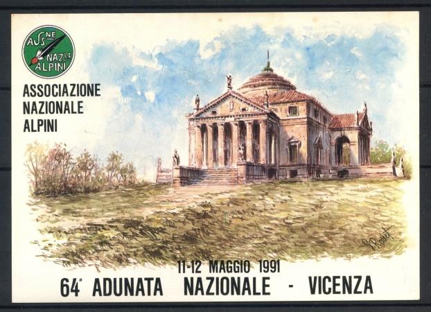1991 - ITALIA - VICENZA - 64° ADUNATA NAZIONALE ALPINI - LOTTO/31218