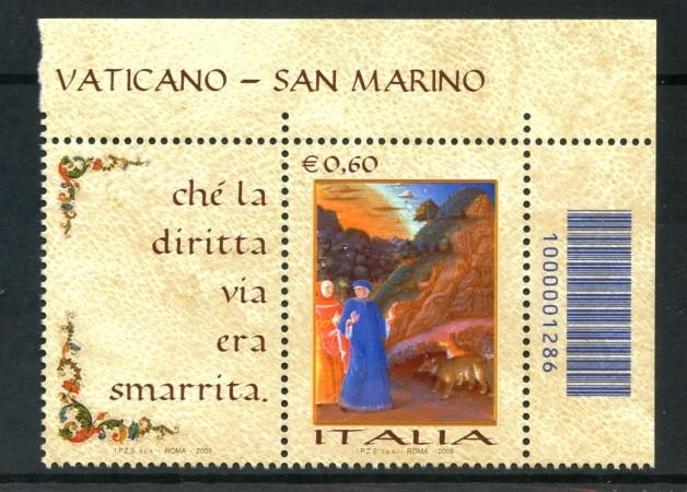 2009 - LOTTO/13772CB - REPUBBLICA - GIORNATA LINGUA ITALIANA - NUOVO CODICE A BARRE