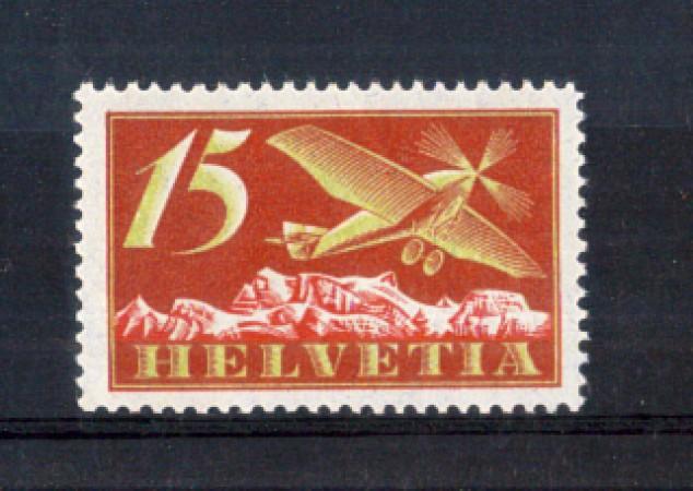 1923 - LOTTO/10710 - SVIZZERA - 15 CENT. POSTA AEREA - NUOVO