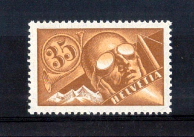 1923 - LOTTO/10712 - SVIZZERA - 35 CENT. POSTA AEREA - NUOVO