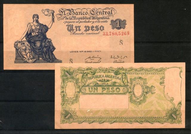 1951 - ARGENTINA - 1 PESO - LOTTO/30177